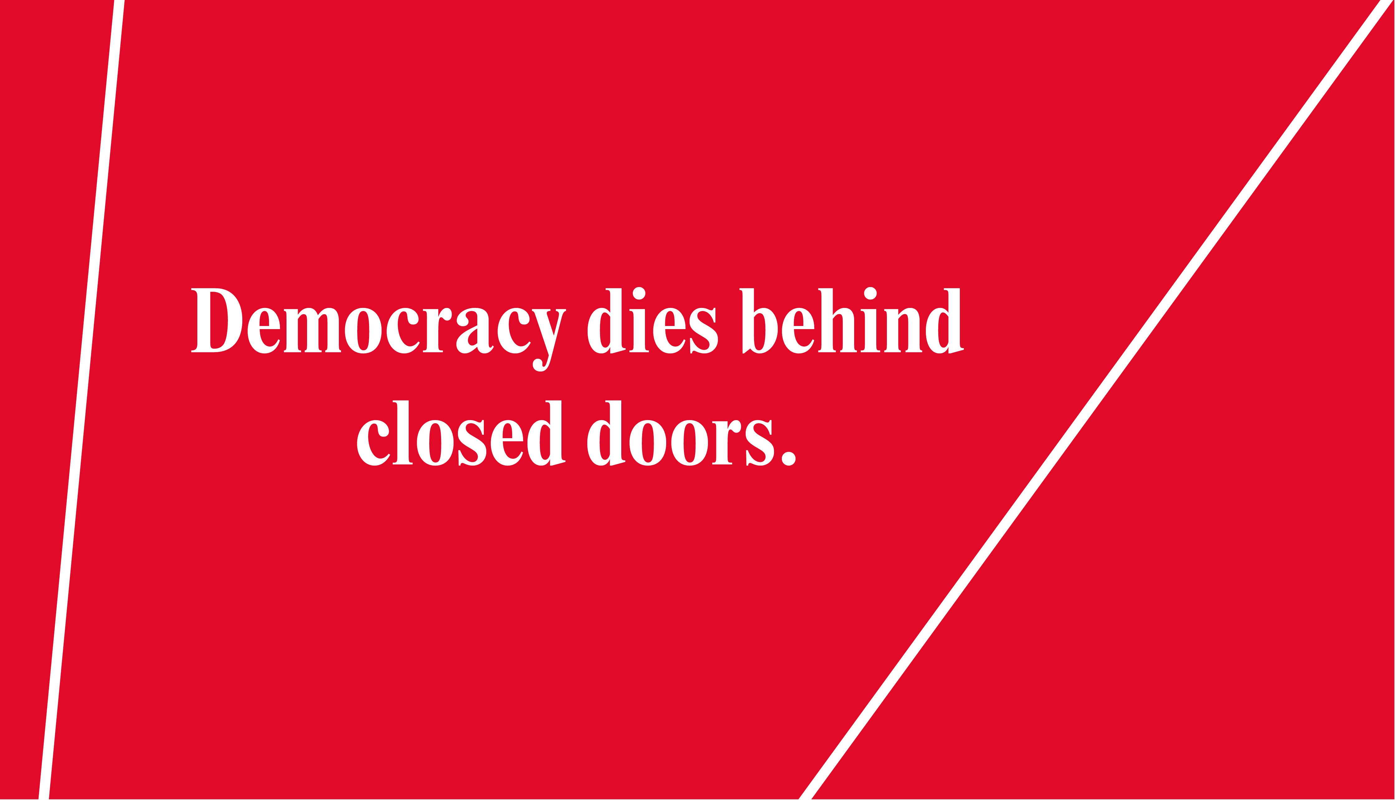 La Transparencia En Los Tiempos De La Post-democracia